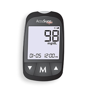 Accusure Glucose Monitor